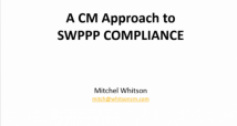 CASQA – Annual Conference Whitson CM Presentation
